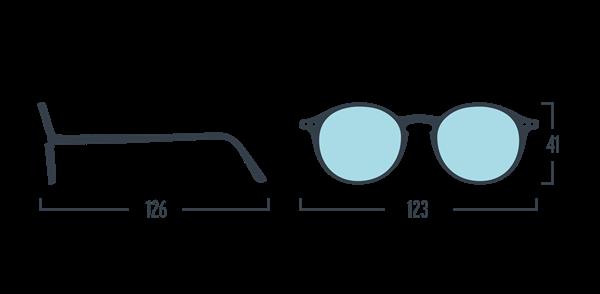 IZIPIZI KIDS Очки #D Для экрана детские JUNIOR  Голубо-черепаховые/Blue Tortoise - фото 11922