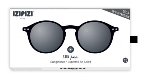 IZIPIZI Очки #D Солнцезащит. Детские JUNIOR Черные/  Black - фото 11938