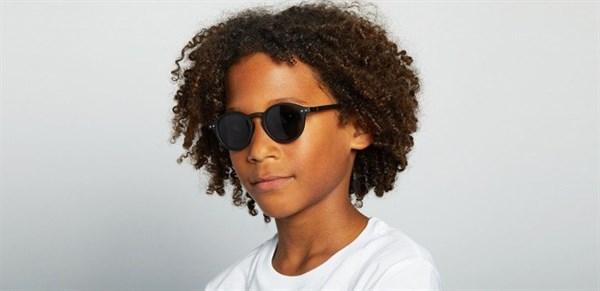 IZIPIZI Очки #D Солнцезащит. Детские JUNIOR Черные/  Black - фото 11940