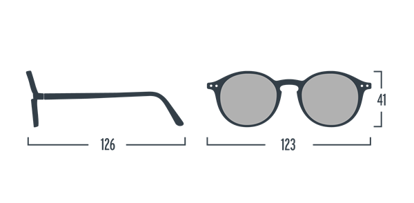 IZIPIZI Очки #D Солнцезащит. детские JUNIOR  Черепаховые/ Tortoise - фото 11941