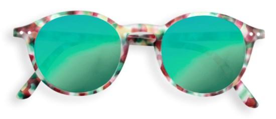 IZIPIZI Очки #D Солнцезащит. детские JUNIOR Зелено-черепаховые зеркальные/ Green Tortoise Mirror - фото 11945