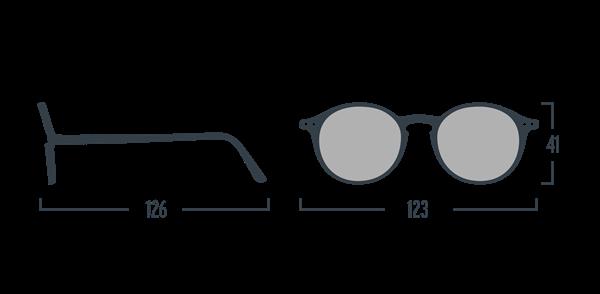 IZIPIZI Очки #D Солнцезащит. детские JUNIOR Зелено-черепаховые зеркальные/ Green Tortoise Mirror - фото 11948