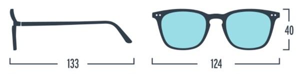 IZIPIZI KIDS Очки #E Для экрана детские JUNIOR  Голубо-черепаховые/Blue Tortoise - фото 12034
