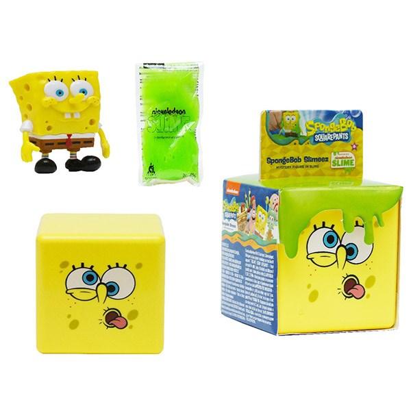 SpongeBob игровой набор со слизью (в ас-те) - фото 12286