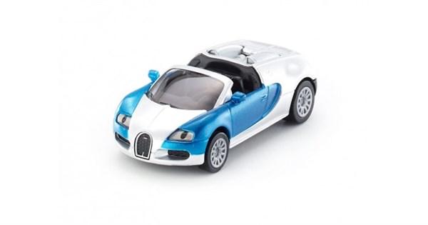 SIKU Машина Bugatti Veyron Grand Sport кабриолет (1:55) - фото 12293