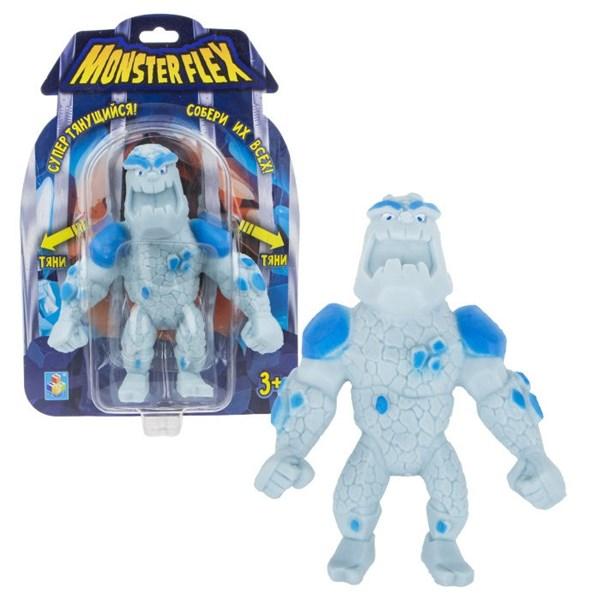 1toy MONSTER FLEX, Человек-айсберг, тянущаяся фигурка, блистер, 15см - фото 12324