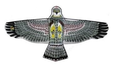 Тилибом Воздушный змей Орел бол. катушка (леер 50м) 160х80см - фото 12381