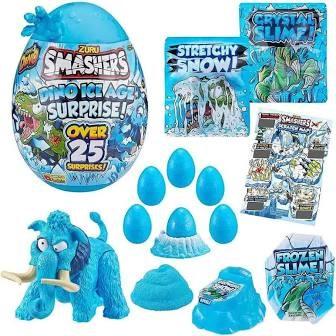 """Игрушка Zuru Smashers Гигантское яйцо динозавра """"Ледниковый период"""" (высота 28 см), 3 в асс. - фото 12797"""