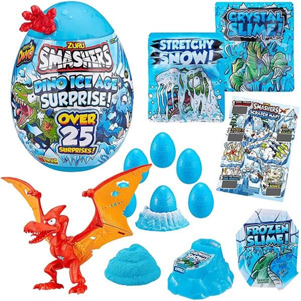 """Игрушка Zuru Smashers Гигантское яйцо динозавра """"Ледниковый период"""" (высота 28 см), 3 в асс. - фото 12798"""