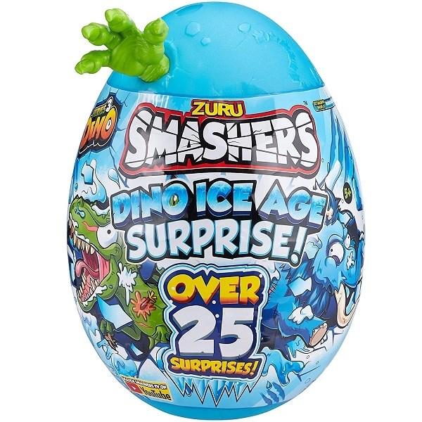 """Игрушка Zuru Smashers Гигантское яйцо динозавра """"Ледниковый период"""" (высота 28 см), 3 в асс. - фото 12800"""