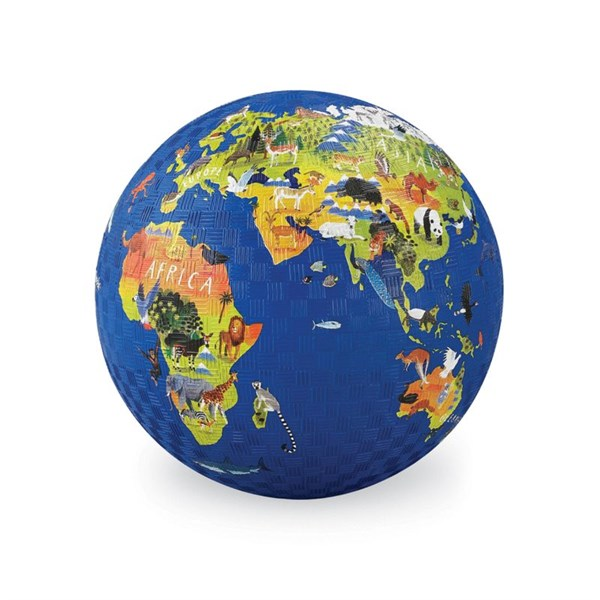 Crocodile Creek Мяч 5'/Карта мира - фото 12866