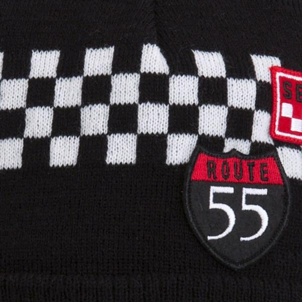 TUC TUC Шапка черная Motor Racing - фото 5014