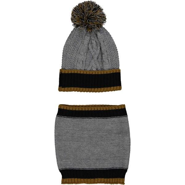 BIRBA шапка + шарф комплект - фото 5309