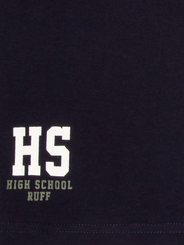RUFF Лонгслив синий с белыми полосками HS - фото 5458