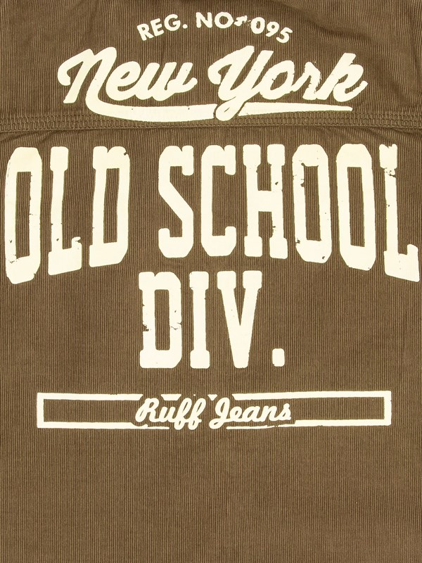 "RUFF Рубашка с принтом ""Old Scool"" - фото 5469"