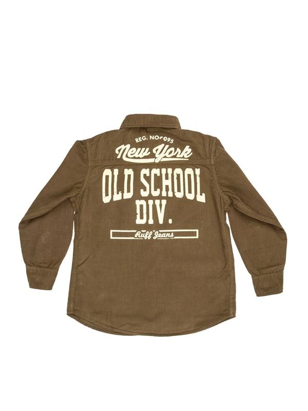 "RUFF Рубашка с принтом ""Old Scool"" - фото 5470"