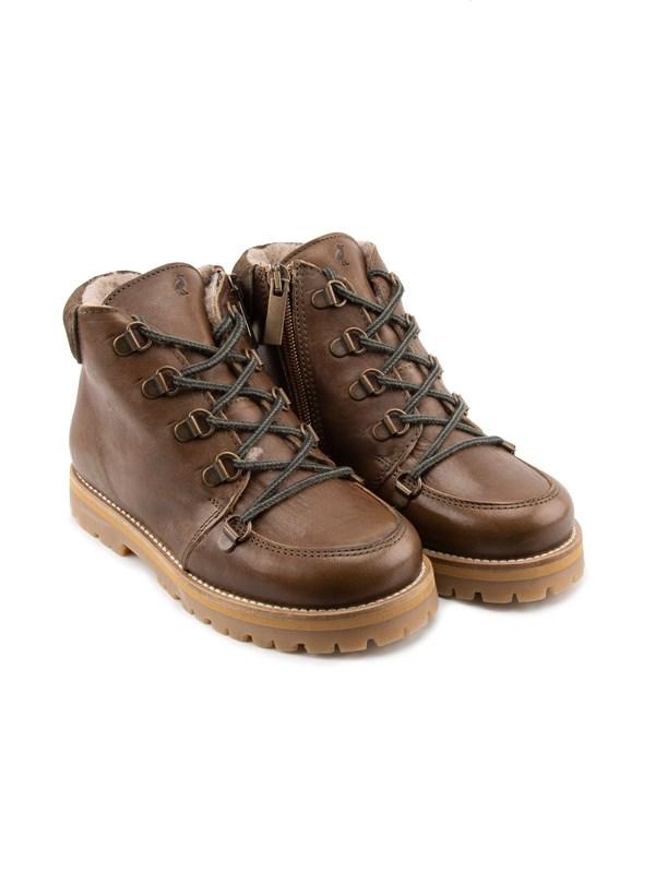 Petit Nord Зимние детские ботинки на шнурках - фото 5481