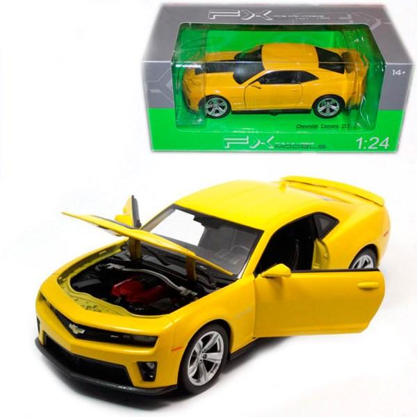 Игрушка модель машины 1:24 Chevrolet Camaro - фото 5647