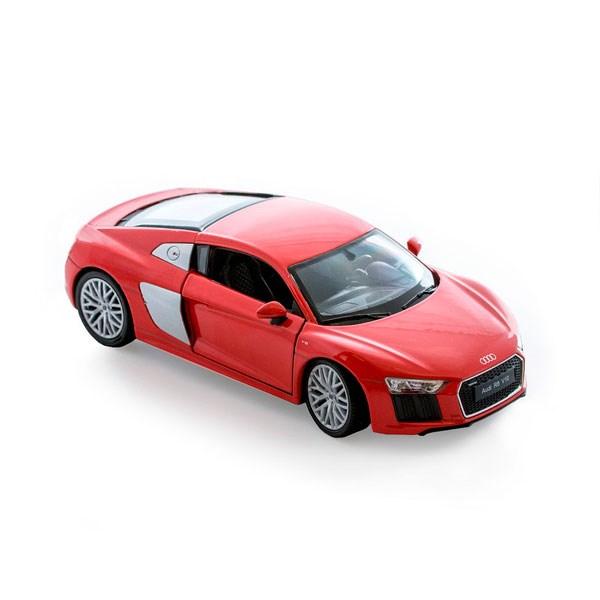 Игрушка модель машины 1:24 Audi R8 V10 - фото 5655