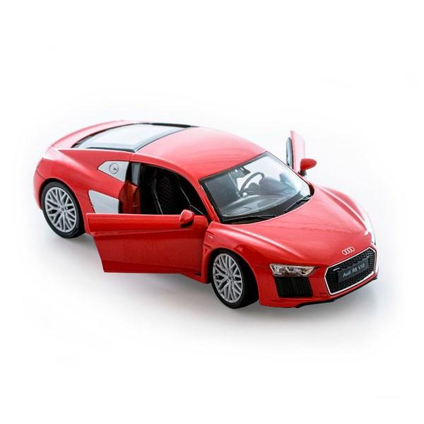 Игрушка модель машины 1:24 Audi R8 V10 - фото 5656