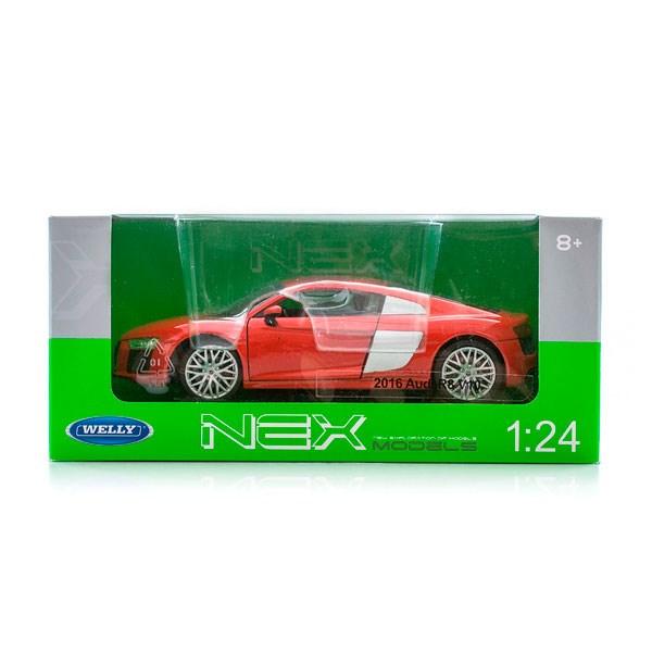 Игрушка модель машины 1:24 Audi R8 V10 - фото 5657