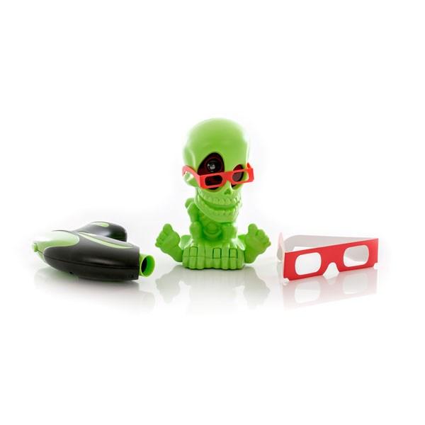 Игрушка Тир проекционный 3D Джонни-Черепок  с 1 бластером - фото 5663