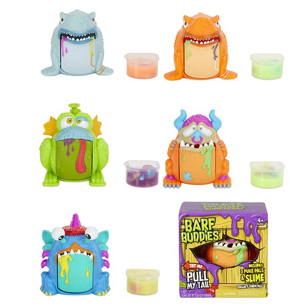 Игрушка Crate Creatures Barf Buddies монстр в ассорт. - фото 5767