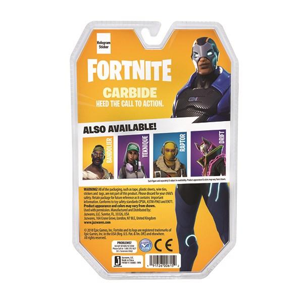 Игрушка Fortnite - фигурка Carbide с аксессуарами - фото 5850