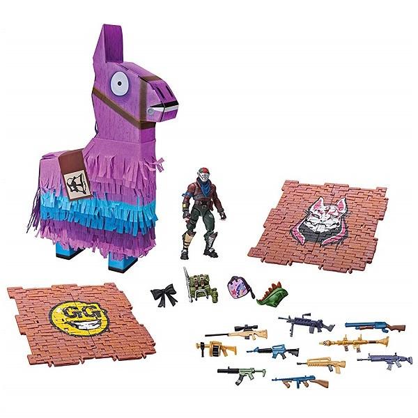 Игрушка Fortnite - Лама-пиньята с аксессуарами - фото 5855