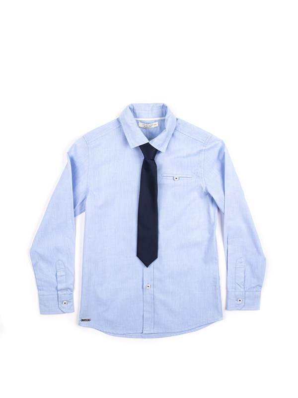 Trybeyond Рубашка с длинным рукавом + Галстук - фото 6423