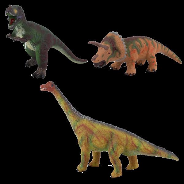 """Фигурка мягконабивная """"Динозавры"""" со звуком, 3 вида в ассортименте - фото 6538"""