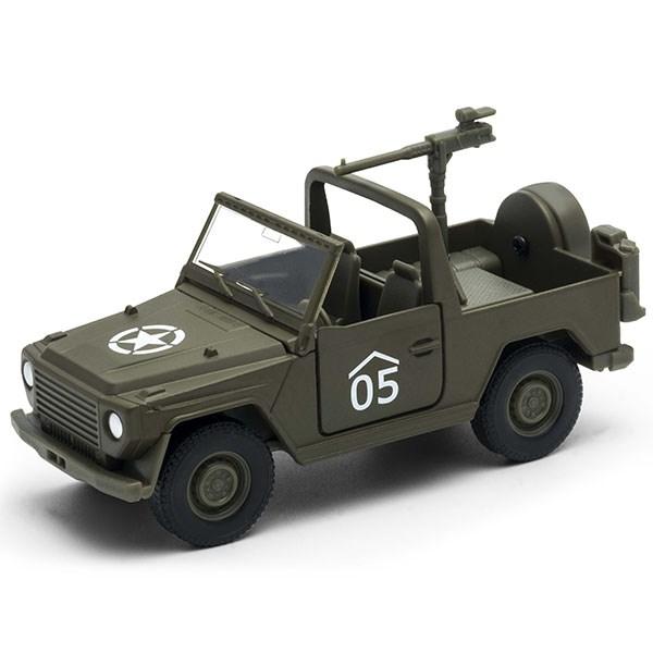 Игрушка военный автомобиль с пулемётом - фото 6561