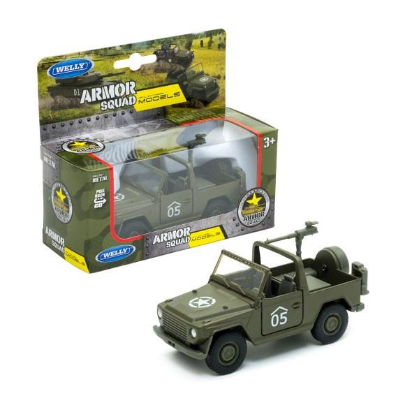Игрушка военный автомобиль с пулемётом - фото 6562