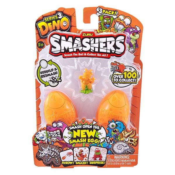 Smashers Дино-сюрприз в яйце, 3 шт. - фото 6565