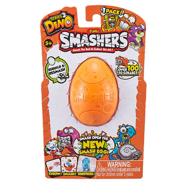 Smashers Дино-сюрприз в яйце, 1шт. - фото 6566