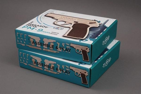 Игрушка TARG модель для сборки PM-9mm - фото 6711