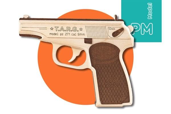 Игрушка TARG модель для сборки PM-9mm - фото 6712
