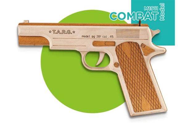 Игрушка TARG модель для сборки Combat M1911 - фото 6713