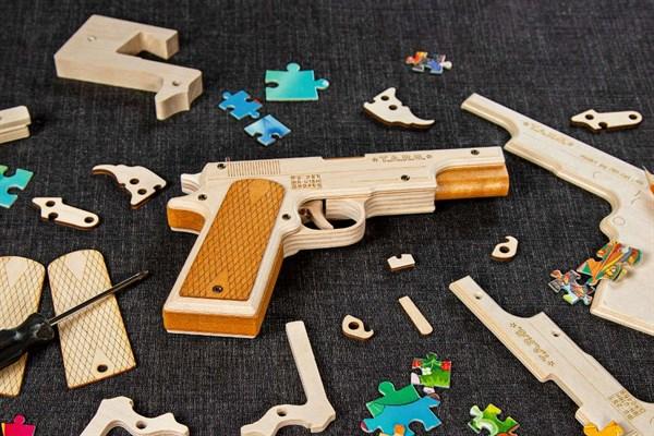 Игрушка TARG модель для сборки Combat M1911 - фото 6716
