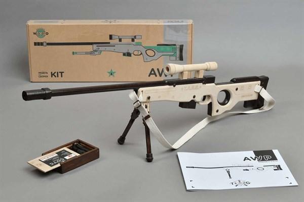 Игрушка TARG модель для сборки AWP CS - фото 6741
