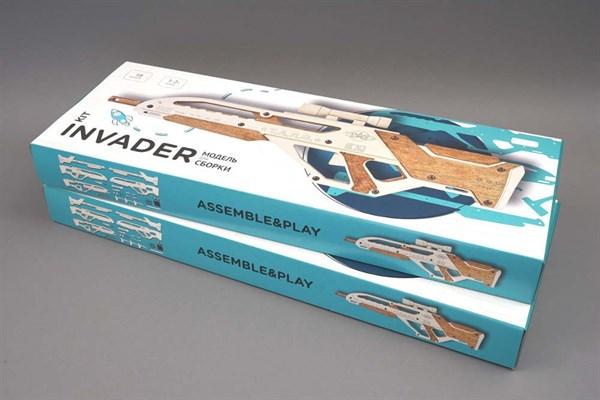 Игрушка TARG модель для сборки Invader - фото 6743
