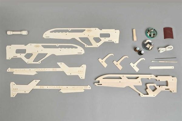 Игрушка TARG модель для сборки Invader - фото 6744