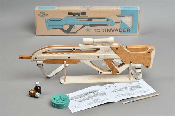 Игрушка TARG модель для сборки Invader - фото 6745