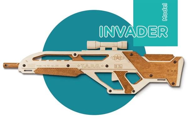 Игрушка TARG модель для сборки Invader - фото 6749