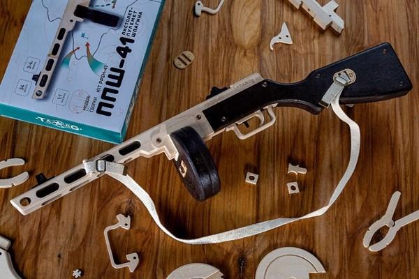 Игрушка TARG модель для сборки ППШ - фото 6750