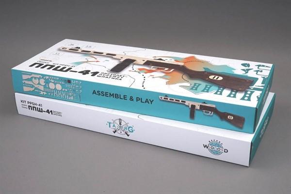 Игрушка TARG модель для сборки ППШ - фото 6751
