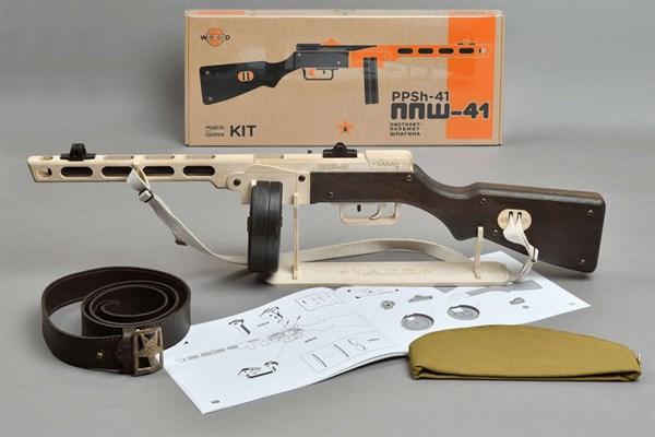 Игрушка TARG модель для сборки ППШ - фото 6752