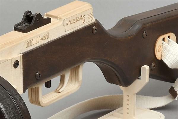 Игрушка TARG модель для сборки ППШ - фото 6754