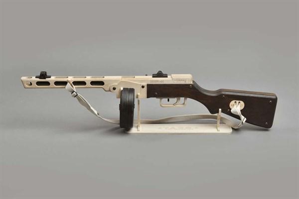 Игрушка TARG модель для сборки ППШ - фото 6755