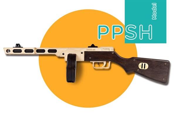 Игрушка TARG модель для сборки ППШ - фото 6756